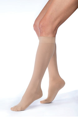 JOBST Relief Stockings Knee Length 15-20 mmHg Petite Closed Toe - SmartFeetStore.com