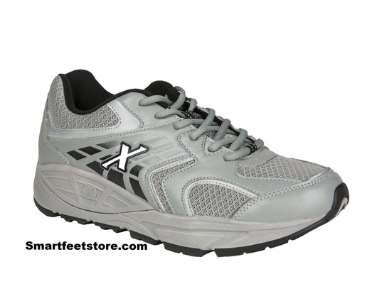 New Xelero Matrix One Mesh-Mens Grey/Black - SmartFeetStore.com