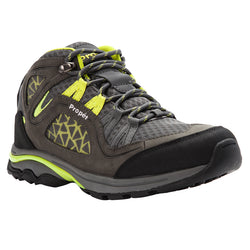 Propet Women's Peak Dark Grey Lime