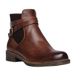 Propet Women's Tatum Bootie Brown