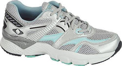 Apex Boss Runner- X Last - Womens-Silver/Sea Blue - SmartFeetStore.com