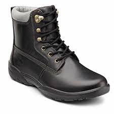 Dr Comfort Men's  Extra Depth Boss Boots lace-up Brown - SmartFeetStore.com