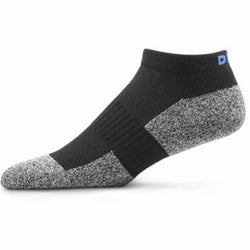 Dr. Comfort No Show Diabetic Socks Black
