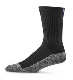 Dr. Comfort Extra Roomy Crew Diabetic Socks Black