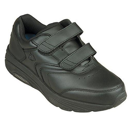InStride Newport Men's Comfort Therapeutic Extra Depth Walking Shoe leather Velcro - SmartFeetStore.com