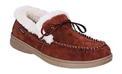 Orthofeet Tuscany Men's Slipper - Brown - SmartFeetStore.com