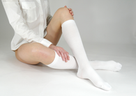 Wow Compression Socks Best Nursing Socks & Travel Socks 10-12mmHg (Accommodates Wide Calves)