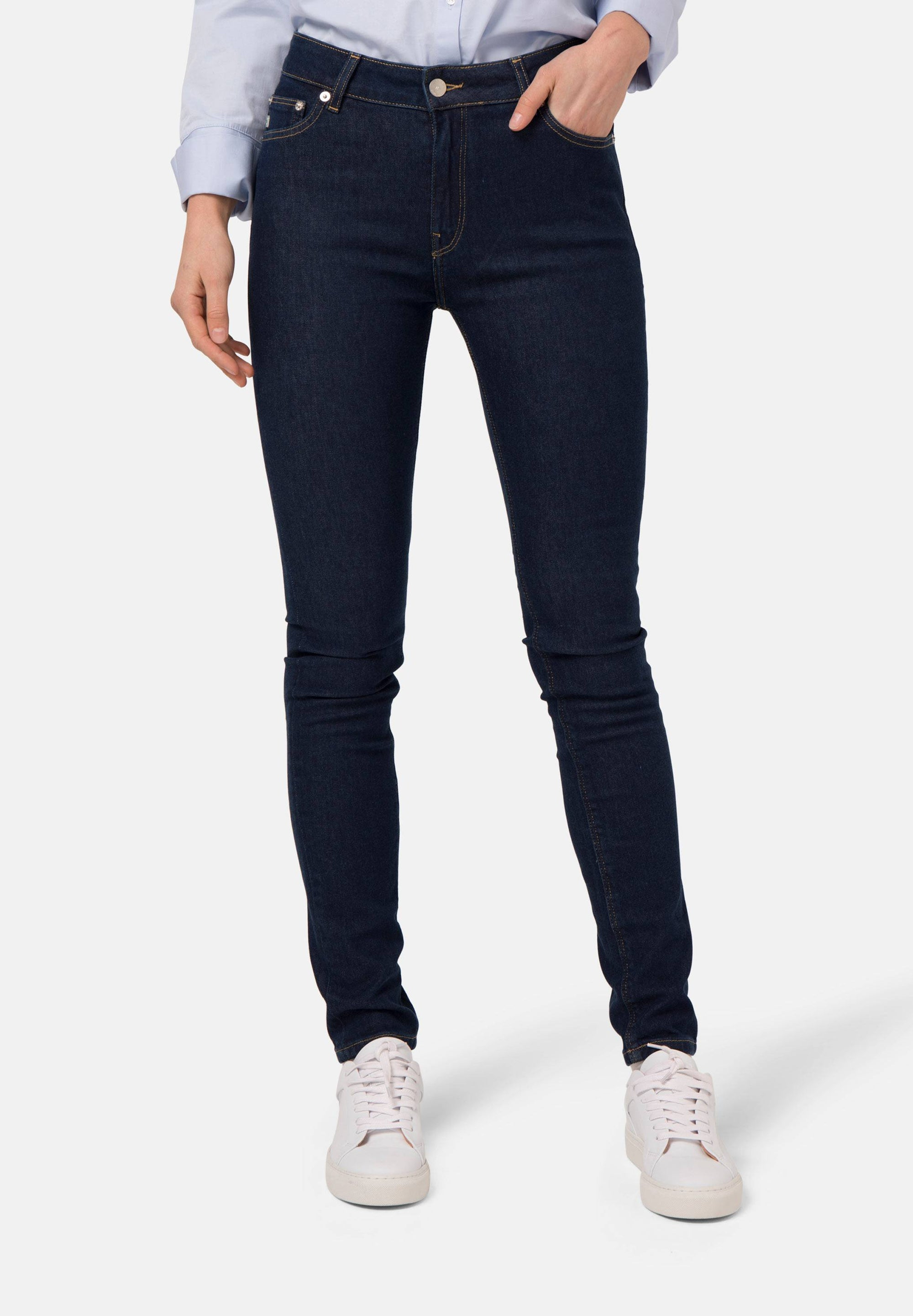 Skinny Hazen Jeans | Strong Blue | Bottoms | Mud Jeans | [product_tag] - Fair Bazaar Ethical Living