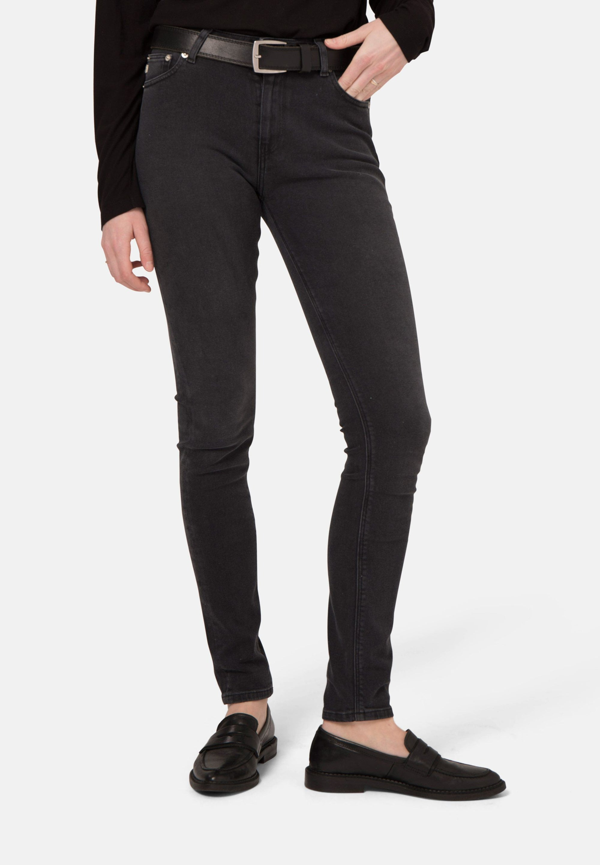 Skinny Hazen Jeans | Stone Black | Bottoms | Mud Jeans | [product_tag] - Fair Bazaar Ethical Living