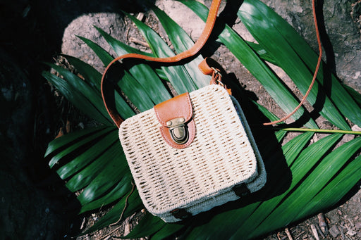 Square Woven Bag