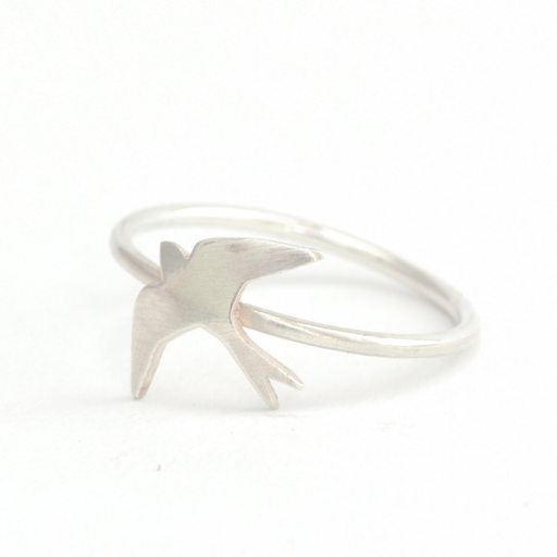 Swallow Silver Ring | Accessories | Tundra | [product_tag] - Fair Bazaar Ethical Living