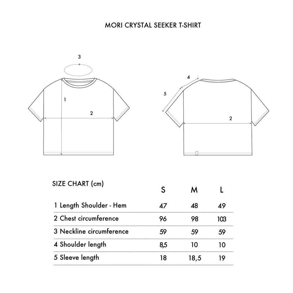 Crystal Seeker T-shirt | Tops | Mori Collective | [product_tag] - Fair Bazaar Ethical Living