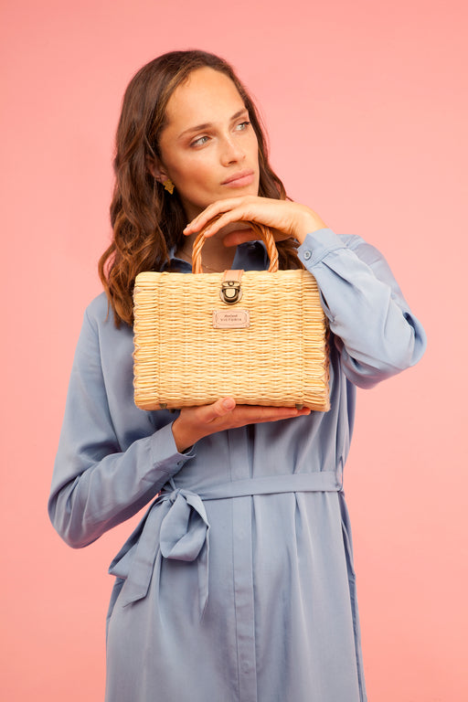 Shoulder Basket | Natural | Accessories | Victoria Handmade | [product_tag] - Fair Bazaar Ethical Living
