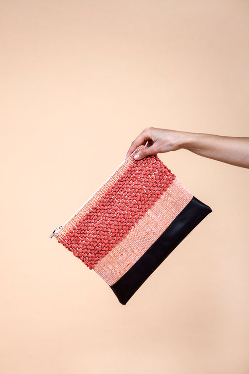 Coral Breeze Clutch