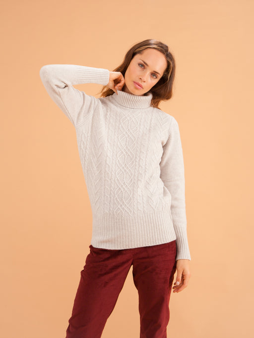 Turtleneck Sweater | Tops | Armazém das Malhas | [product_tag] - Fair Bazaar Ethical Living