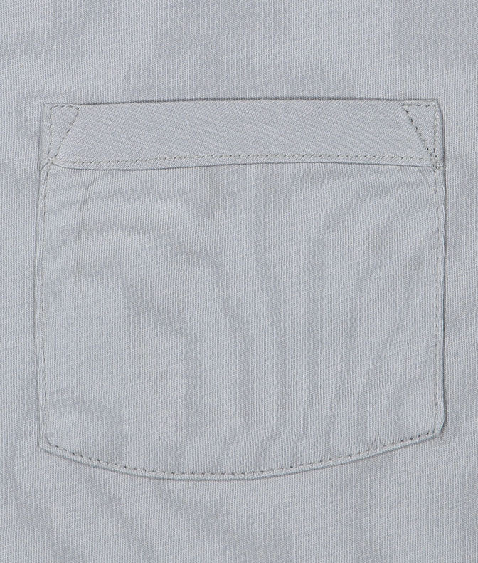 Basic T-shirt with pocket | Grey