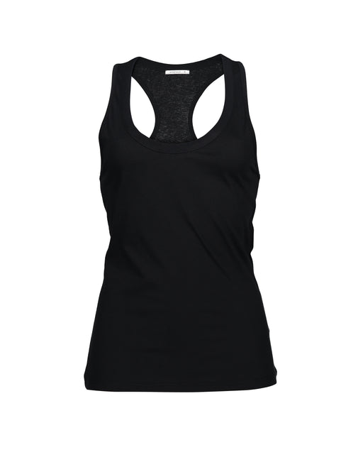 Classic Racerback Top | Black | Tops | Baseville | [product_tag] - Fair Bazaar Ethical Living