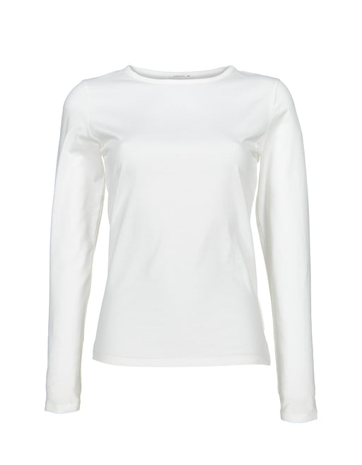 Basic Long Sleeve | White | Tops | Baseville | [product_tag] - Fair Bazaar Ethical Living