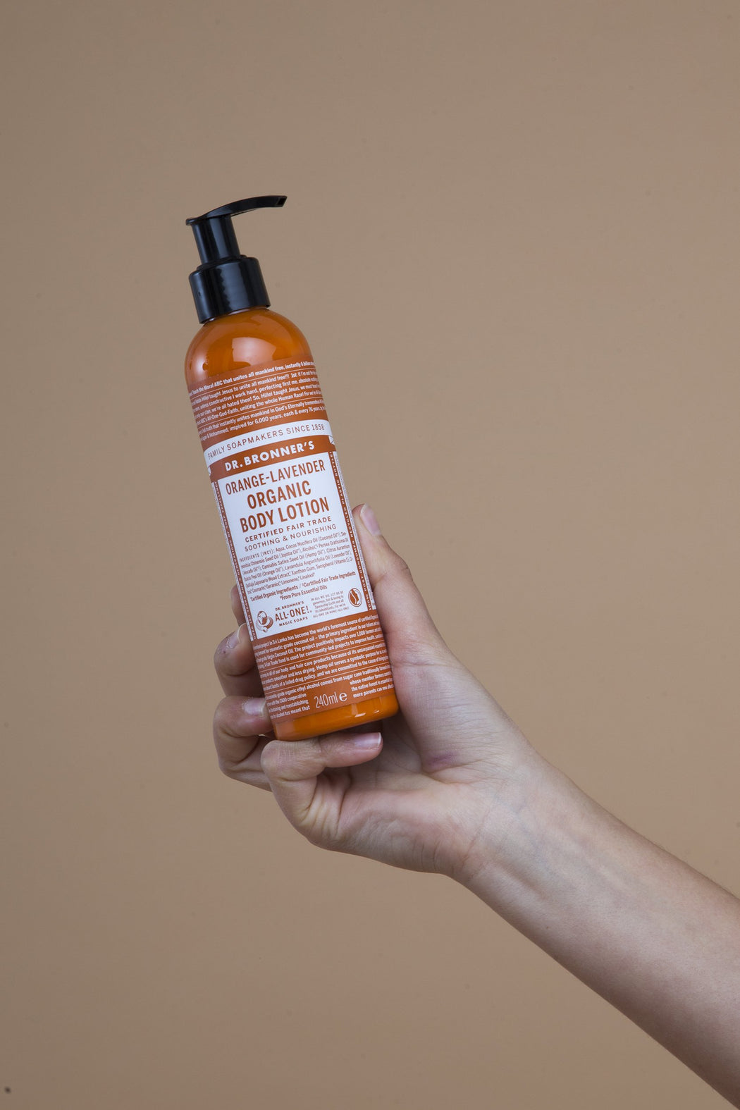 Orange & Lavender Body Lotion | Beauty | Dr. Bronner's | [product_tag] - Fair Bazaar Ethical Living