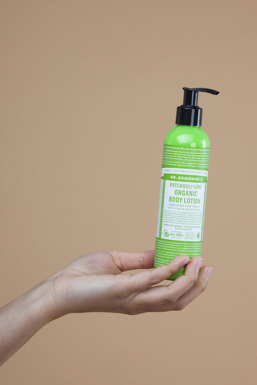 Patchouli & Lime Body Lotion | Beauty | Dr. Bronner's | [product_tag] - Fair Bazaar Ethical Living