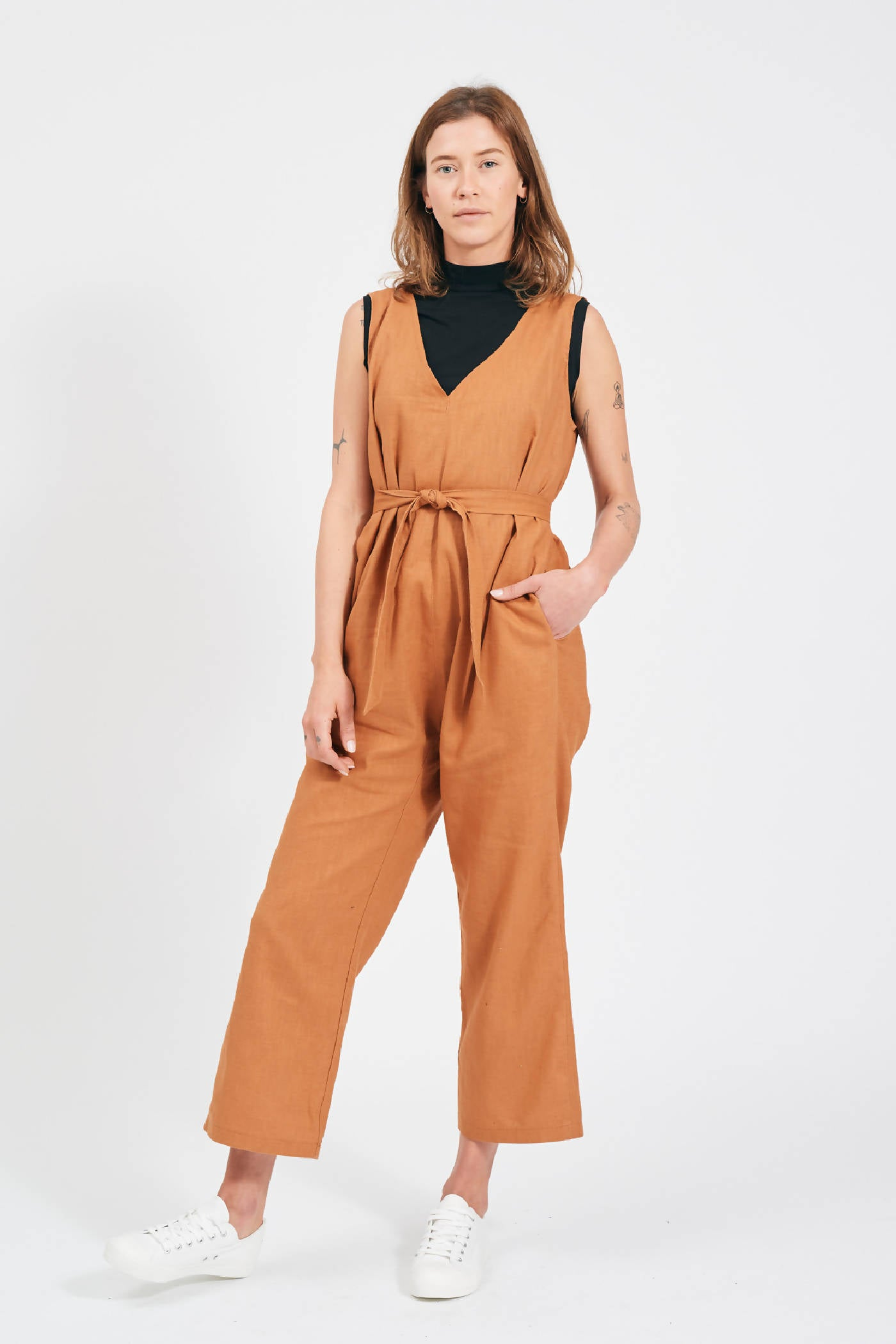 SWITCH TOP - OCHRE