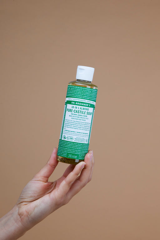 Almond Pure Castille Soap | Beauty | Dr. Bronner's | [product_tag] - Fair Bazaar Ethical Living