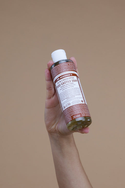 Eucalyptus Pure Castille Soap | Beauty | Dr. Bronner's | [product_tag] - Fair Bazaar Ethical Living