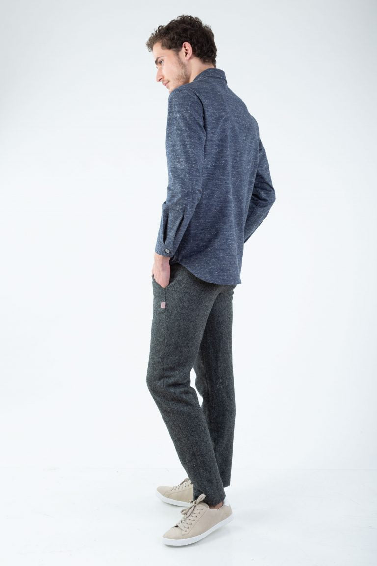 Cotton Classic Shirt Blue | Shirts | Näz | [product_tag] - Fair Bazaar Ethical Living