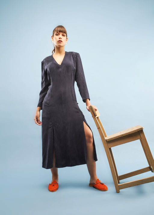 Alex Dress | Blue | Dresses & Jumpsuits | Jolie Su | [product_tag] - Fair Bazaar Ethical Living