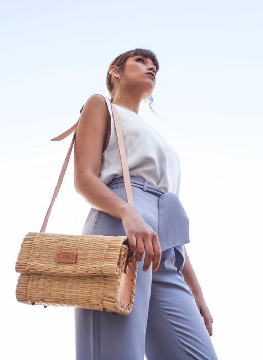 Shoulder M Bag | Natural | Accessories | Victoria Handmade | [product_tag] - Fair Bazaar Ethical Living