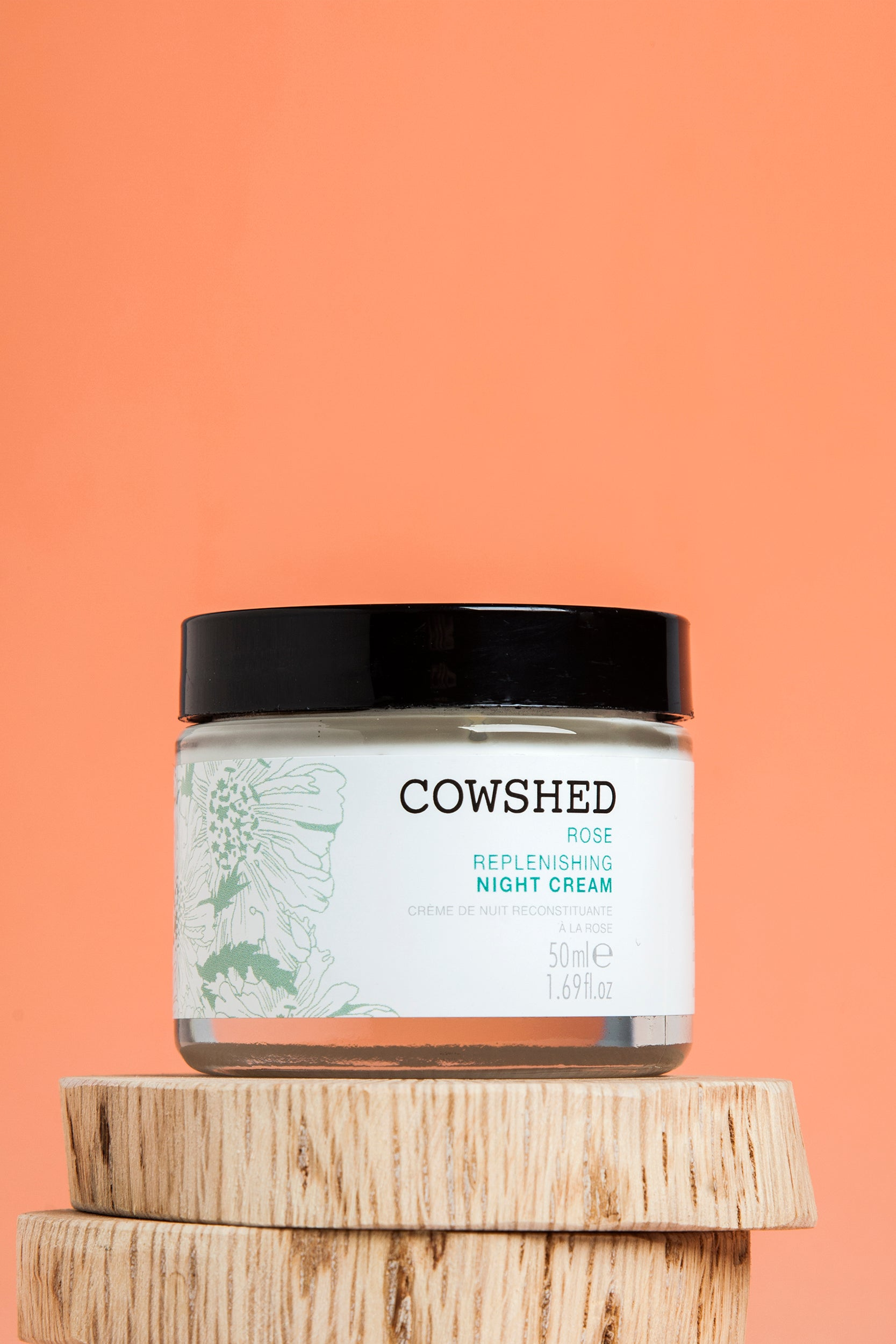 Rose Night Cream | Beauty | Cowshed | [product_tag] - Fair Bazaar Ethical Living