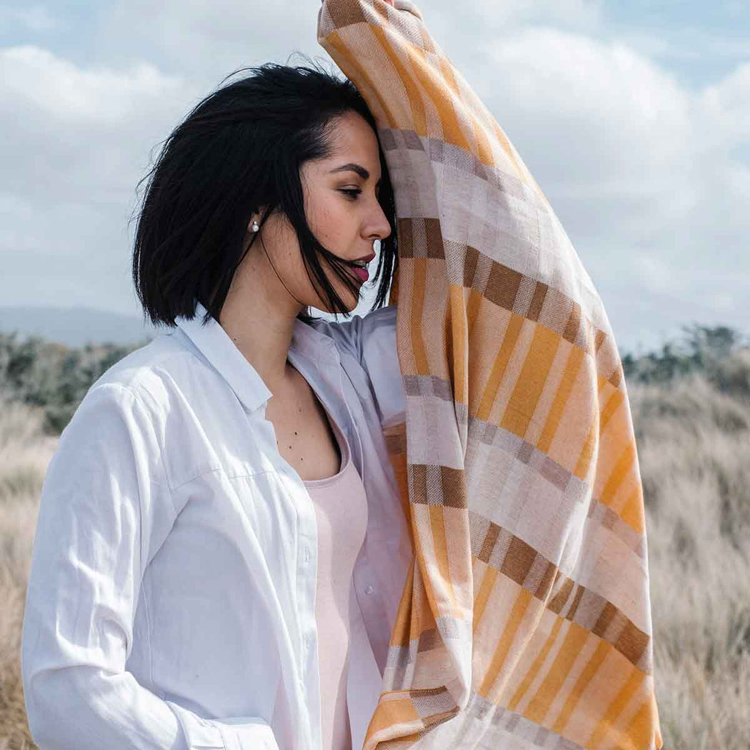 Frieda Shawl | Accessories | Rifò Lab | [product_tag] - Fair Bazaar Ethical Living