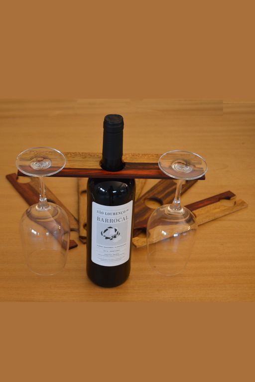 Wine Glass Support | Home | Dominó Woodwork | [product_tag] - Fair Bazaar Ethical Living