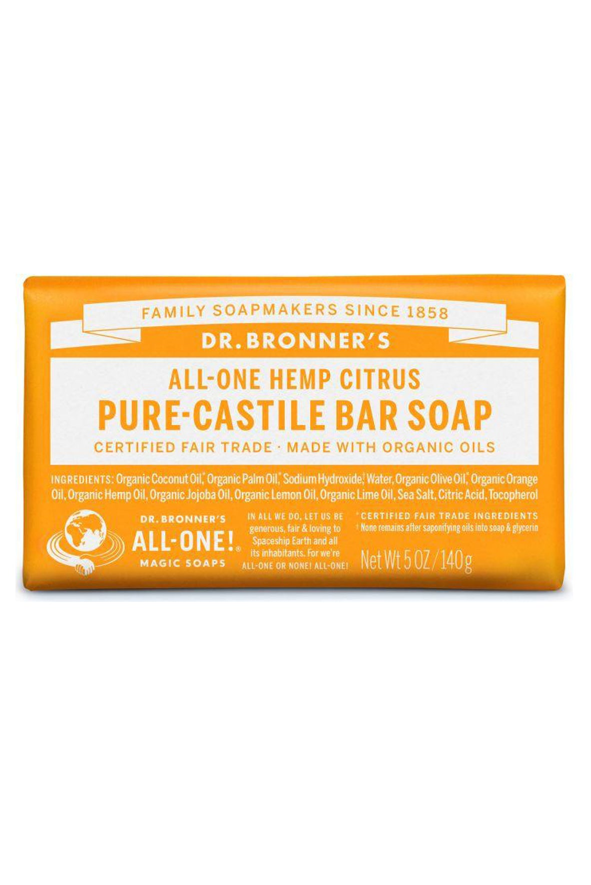 Bar Soap | Beauty | Dr. Bronner's | [product_tag] - Fair Bazaar Ethical Living
