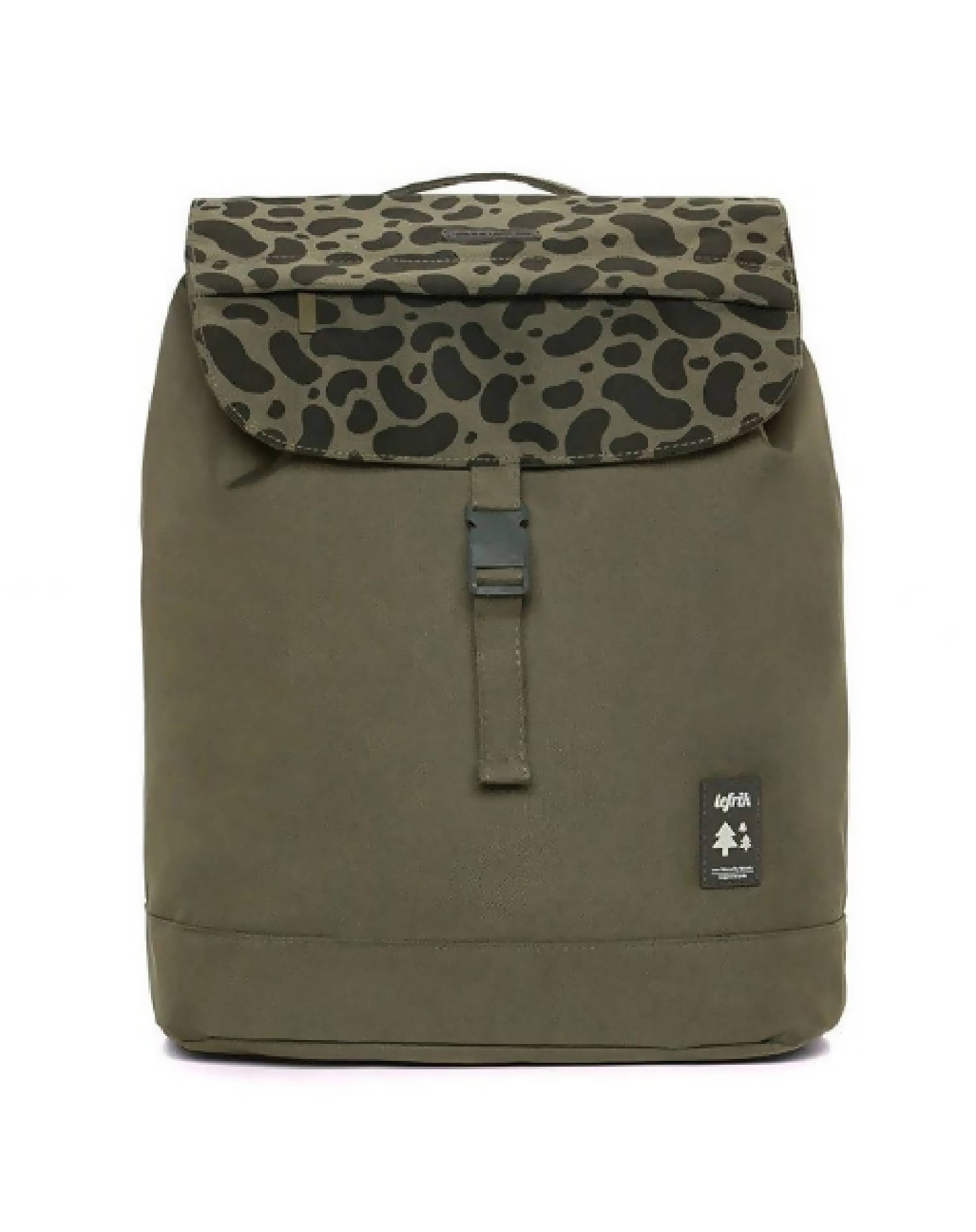 Eco Flap Backpack Small | Stains