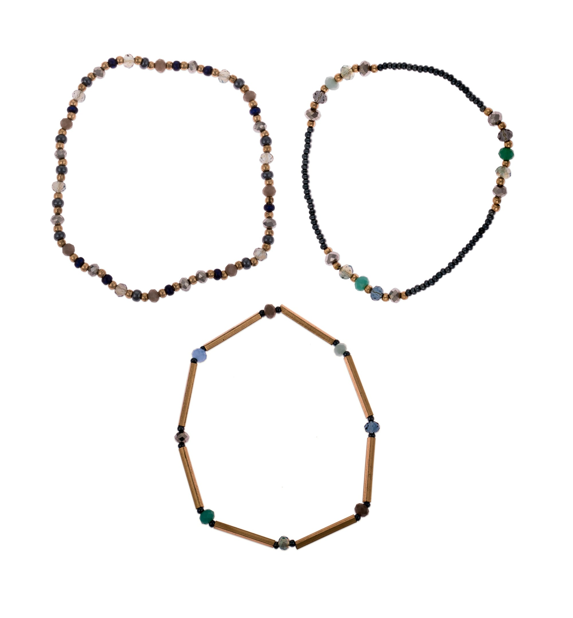 Esha Bracelet | Set of 3 | Accessories | Daughters of The Ganges | [product_tag] - Fair Bazaar Ethical Living