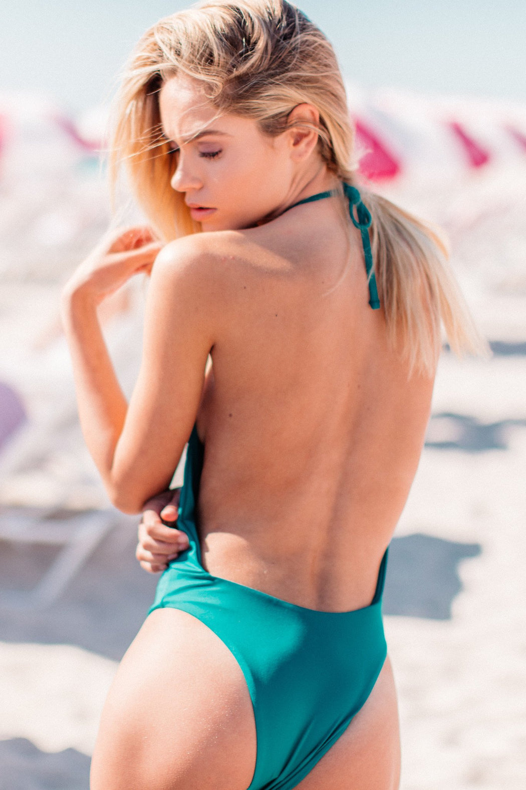 Foxy One-Piece in Pacific | Beachwear | Tuhkana Swimwear | [product_tag] - Fair Bazaar Ethical Living