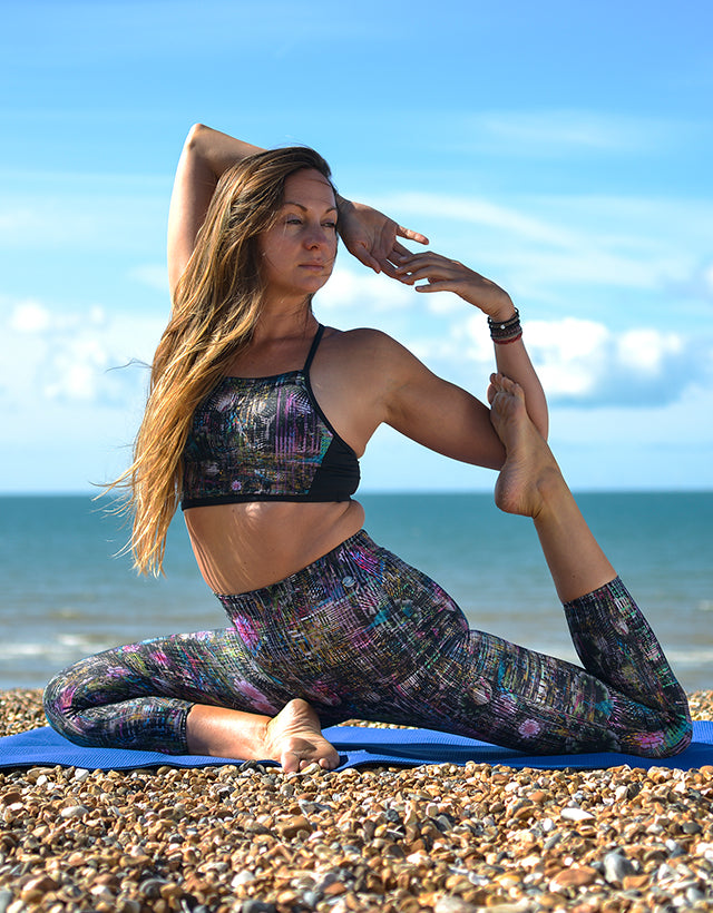Multi Sports Crop Top Ysabel | Activewear | Ruby Moon | [product_tag] - Fair Bazaar Ethical Living