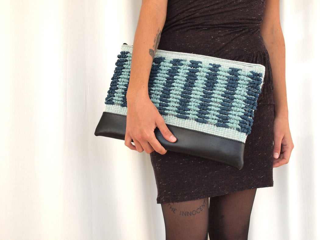Green Paradise Clutch
