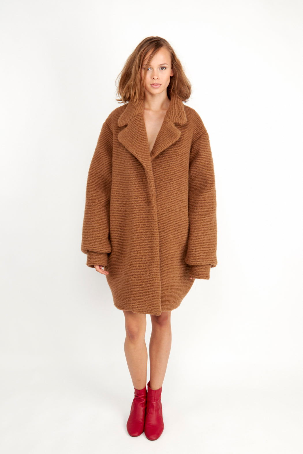 Suky Overcoat Caramel | Coats & Jackets | Fair Retail | [product_tag] - Fair Bazaar Ethical Living