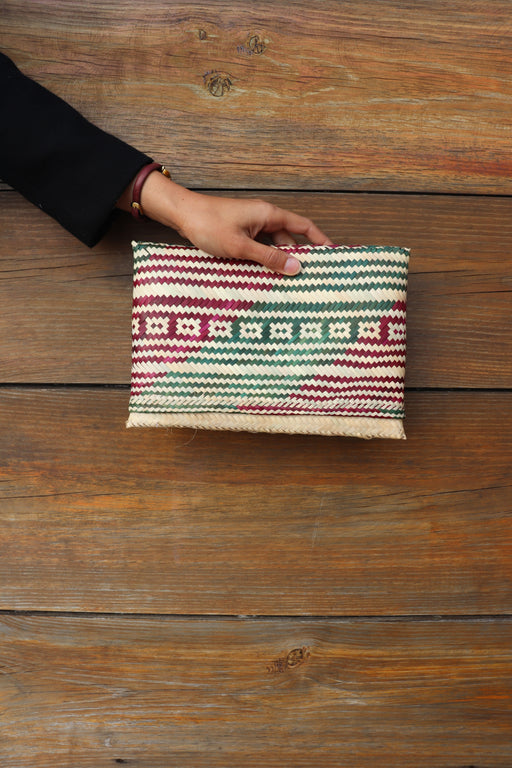Mozambique Traditional Reed Clutch - Fair Bazaar Ethical Living