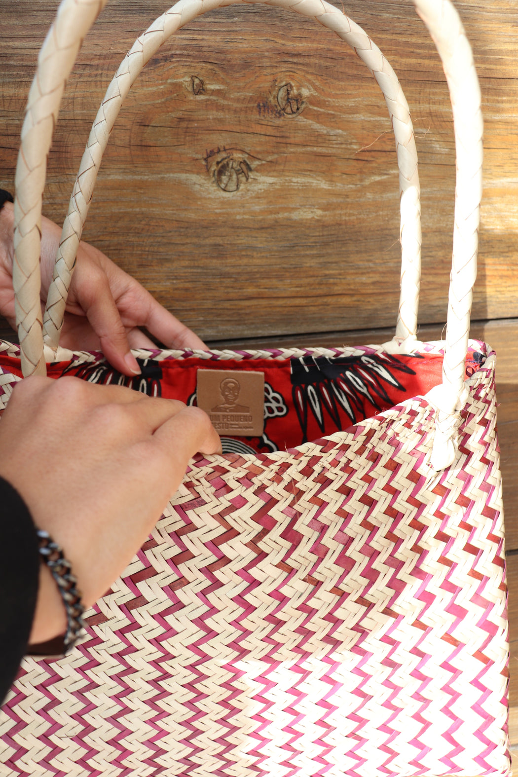 Mozambique Traditional Reed Basket | Accessories | A Little Gesture | [product_tag] - Fair Bazaar Ethical Living
