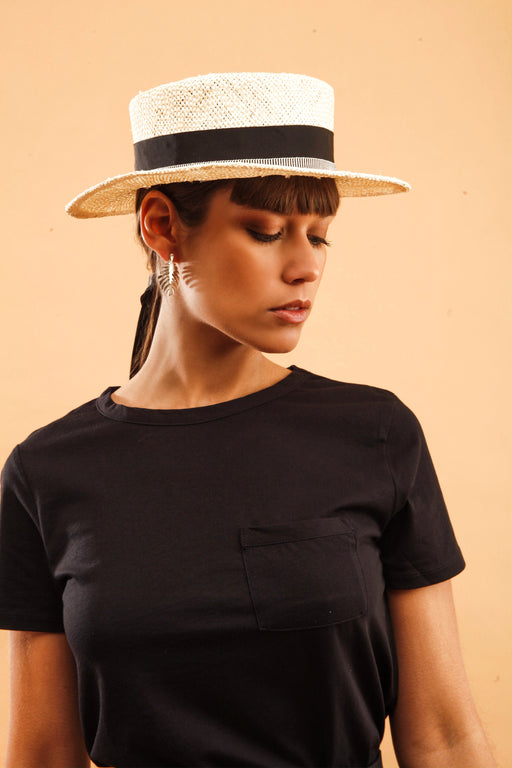 Basic T-shirt with pocket | Black | Tops | Baseville | [product_tag] - Fair Bazaar Ethical Living