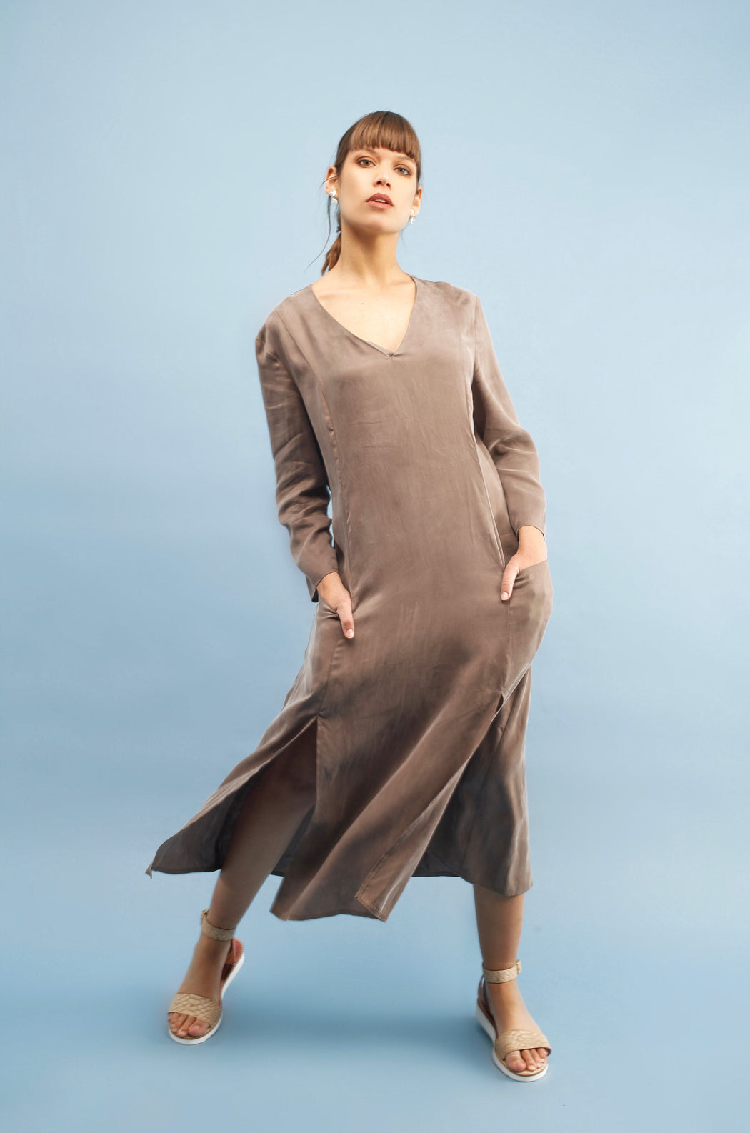 Alex Dress | Machiato | Dresses & Jumpsuits | Jolie Su | [product_tag] - Fair Bazaar Ethical Living