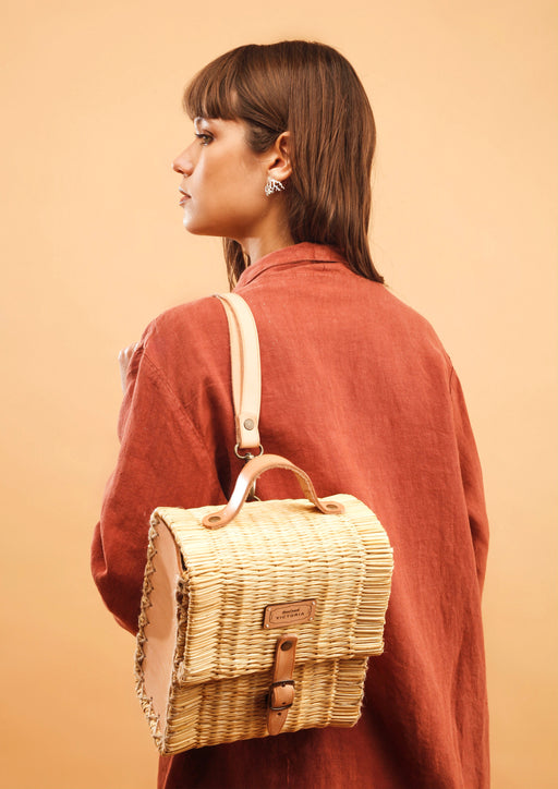 Backpack | Natural | Accessories | Victoria Handmade | [product_tag] - Fair Bazaar Ethical Living