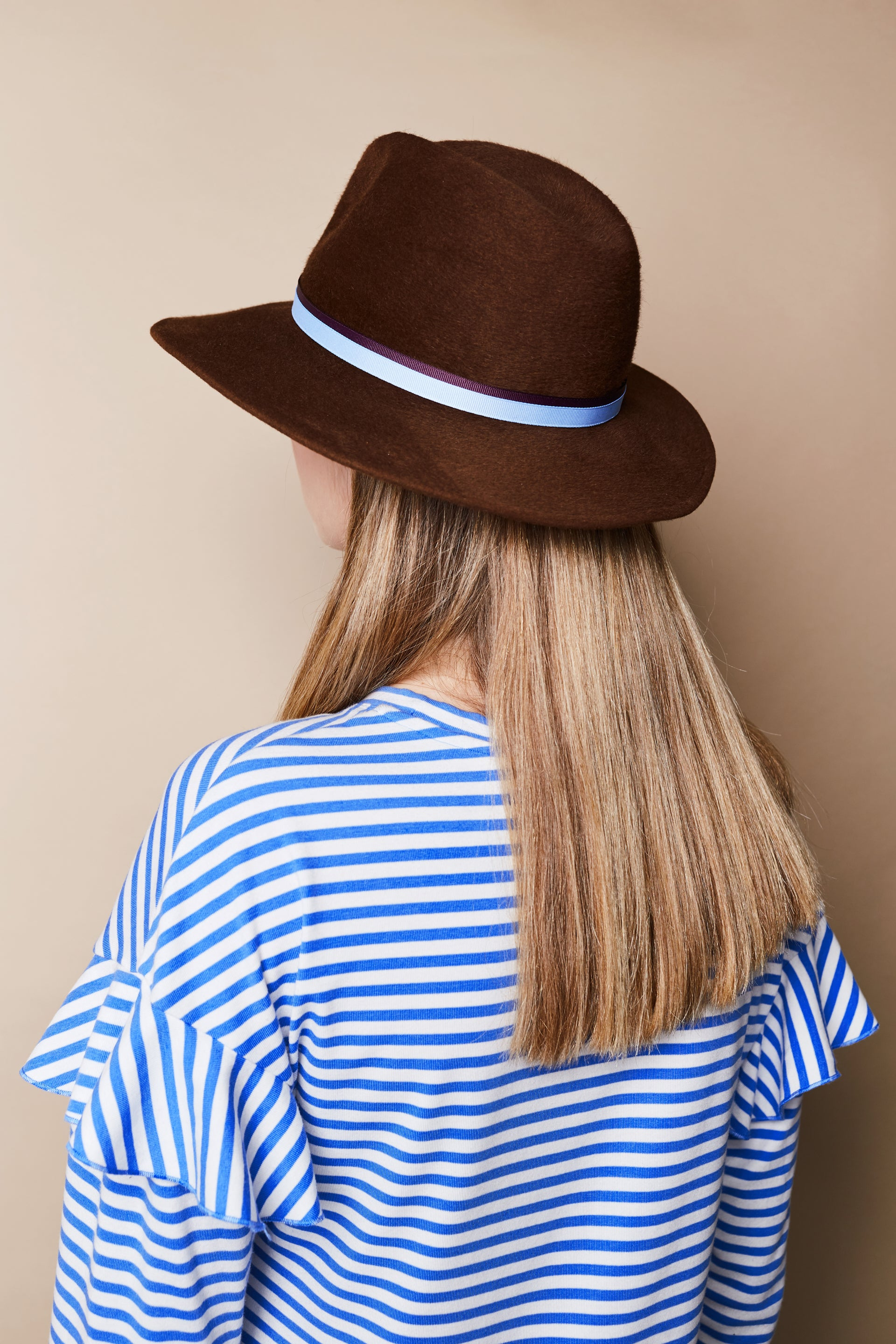 Krysia Brown Hat | Accessories | Jolie Su | [product_tag] - Fair Bazaar Ethical Living