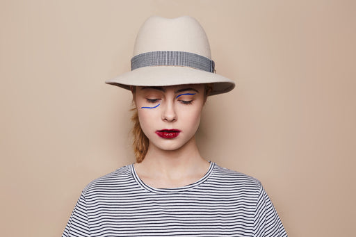 Jolie B White Hat | Accessories | Jolie Su | [product_tag] - Fair Bazaar Ethical Living