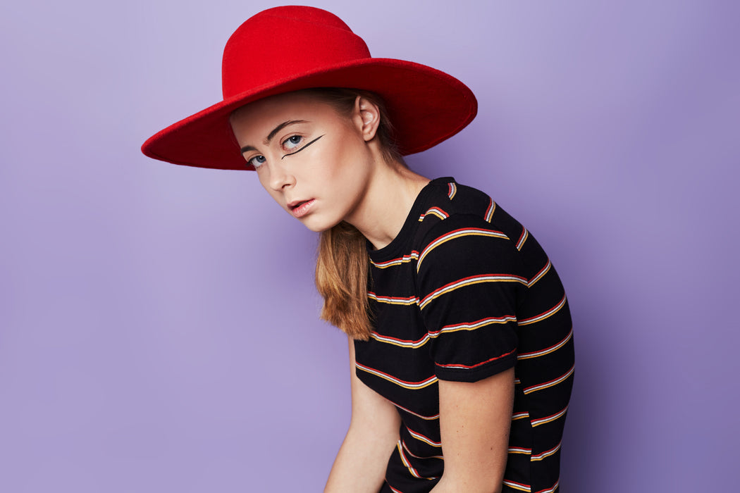 Red Avocado Hat | Accessories | Jolie Su | [product_tag] - Fair Bazaar Ethical Living