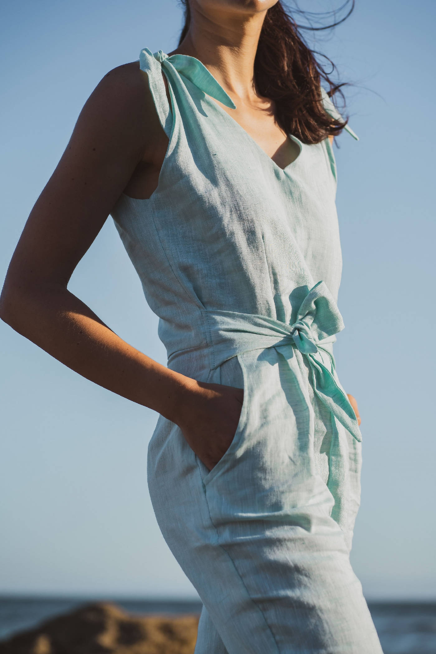 the Formentera jumpsuit