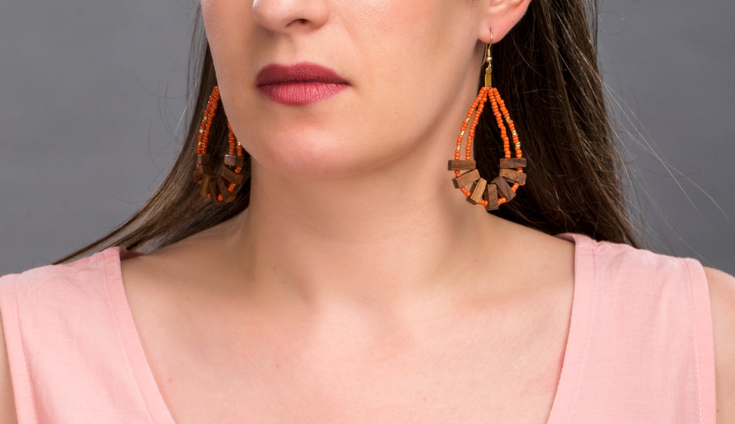Mallika Earrings | Accessories | Daughters of The Ganges | [product_tag] - Fair Bazaar Ethical Living